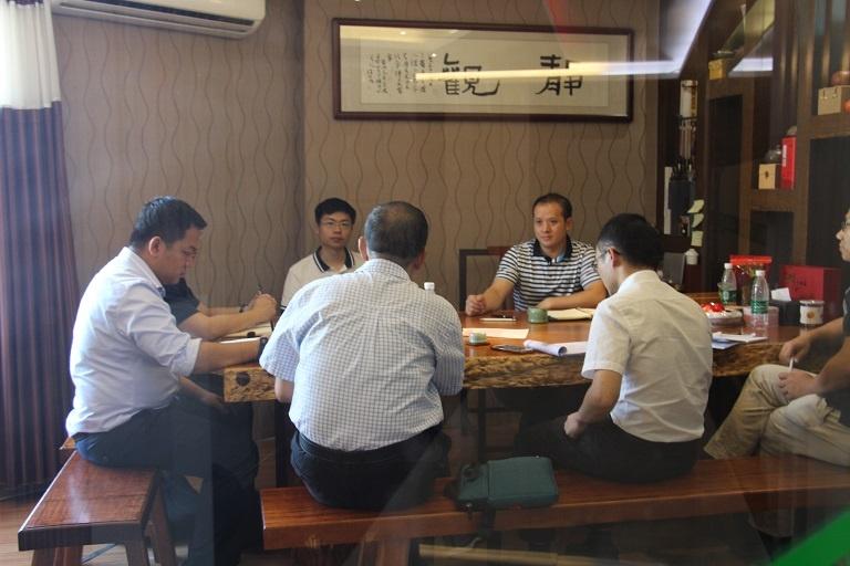 华南理工商管理学院杨雷教授和刘飞博士率团队莅临澳镭照明调研