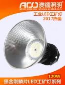 工业型黑金刚LED工矿灯120W
