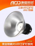 工业型黑金刚LED工矿灯100W