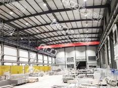 (12米钢结构厂房-150W工矿灯)瑞格钢铁制品(宁波)有限公司厂房照明升级改造