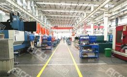 (11米钢结构厂房-150W工矿灯)清远富强汽车配件有限公司生产车间亮化升级