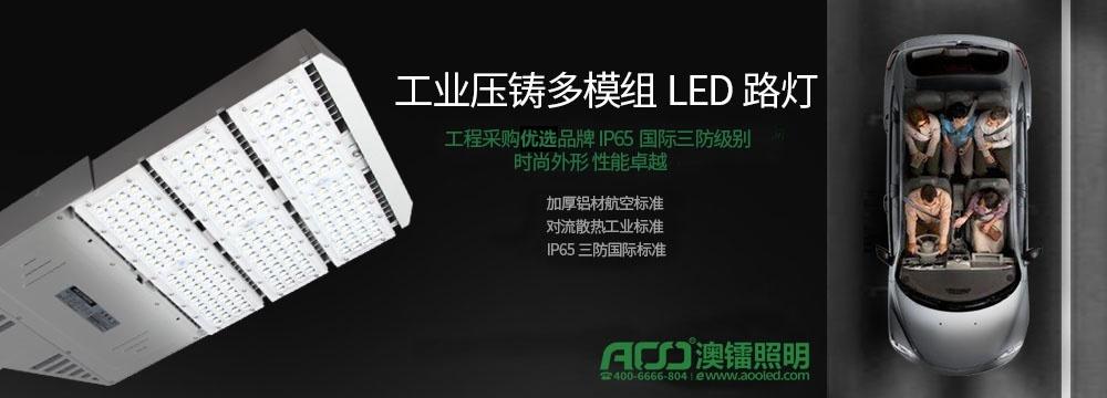 17年新款工业压铸多模组LED路灯